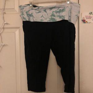 Tie dye Capri yoga pants